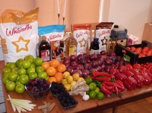 Fresh Ingredients to start